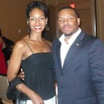 Teresa Kay-Aba Kennedy and Francys Johnson at 5th Annual NAACP Leadership 500 Summit - May 23, 2009