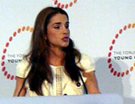 H.M. Queen Rania Al Abdullah of the Hashemite Kingdom of Jordan