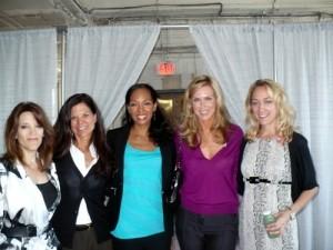 Marianne Williamson, Susan Smalley, Terri Kennedy, Kathy Freston, Kris Carr at WIE Symposium 2010