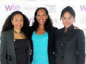 Sheila Kennedy Bryant, Terri Kennedy, Natalia Allen at the WIE Symposium 2010