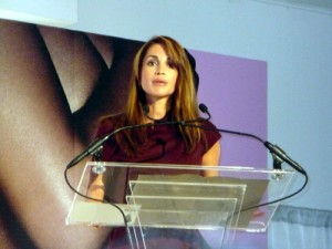 Her Majesty Queen Rania at the WIE Symposium 2010