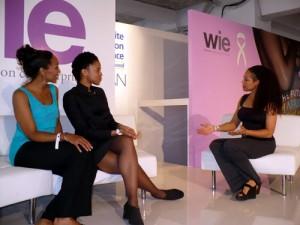 Terri Kennedy, Natalia Allen and Sheila Kennedy Bryant at the WIE Symposium 2010