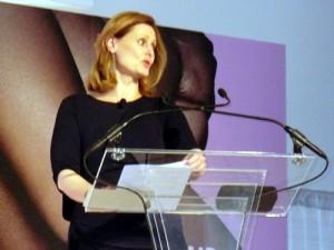 Sarah Brown at the WIE Symposium 2010
