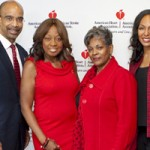 Clyde Yancy, M.D., Star Jones, Patricia Butts, Teresa Kennedy, Ph.D., MBA