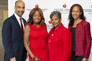 Clyde Yancy, M.D., Star Jones, Patricia Butts, Teresa Kennedy, Ph.D., MBA
