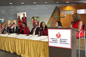 Dr. Clyde Yancy, Dr. Icilma Fergus, Dr. Olajide Williams, Dr. Teresa Kennedy, Egypt Sherrod