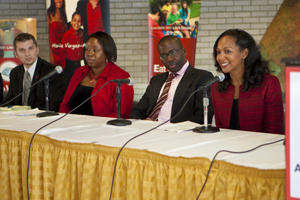 Dr. Icilma Fergus, Dr. Olajide Williams, Dr. Teresa Kennedy