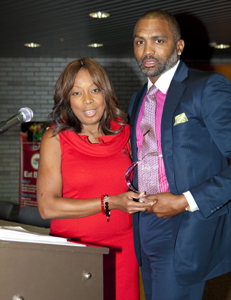 Star Jones and Cuttino Mobley