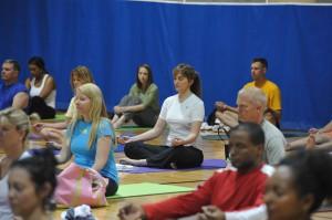 Yoga at the Pentagon with Tao Porchon-Lynch - Meditation