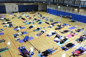 Yoga at the Pentagon with Tao Porchon-Lynch - Deep Relaxation