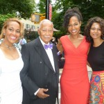 Kellyn Tillers, Mayor David Dinkins, Dr. Terri Kennedy, Grace Ali at Gracie Mansion