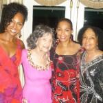 Terri Kennedy, Tao Porchon-Lynch, Sheila Kennedy, Janie Sykes-Kennedy