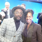 will.i.am and Teresa Kennedy