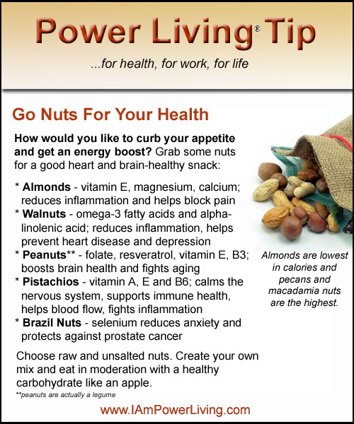 Go Nuts For Your Health