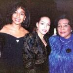Janie Sykes-Kennedy, Teresa Kay-Aba Kennedy, Sheila Jenine Kennedy and Coretta Scott King