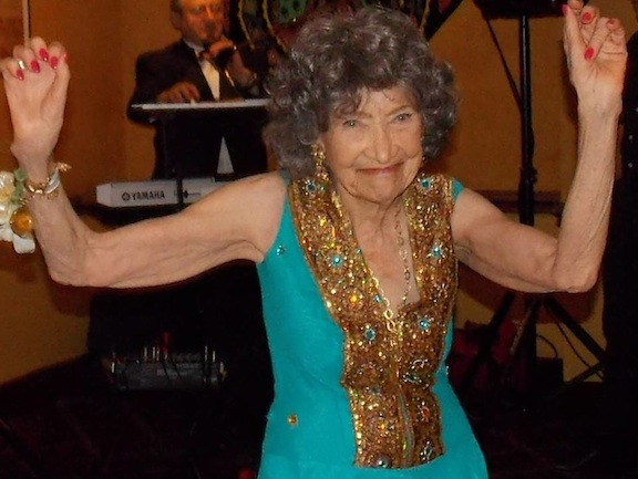 Tao Porchon-Lynch at her 95th Birthday Bash