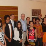 Young Global Leaders at Australian Consul General Residence