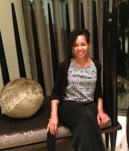 Teresa Kennedy at the Royal Marang Hotel in South Africa