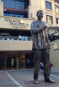 Nelson Mandela Square in Johannesburg
