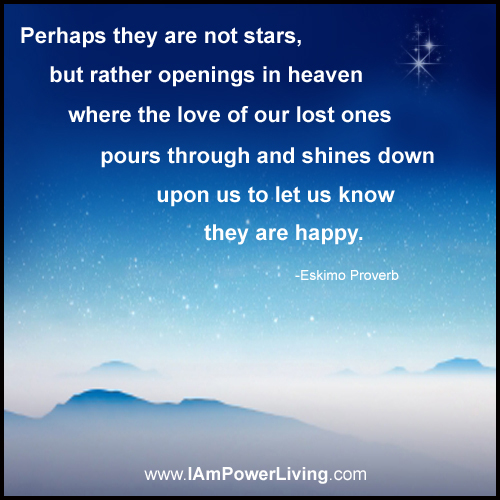 Perhaps They Are Not Stars Quote