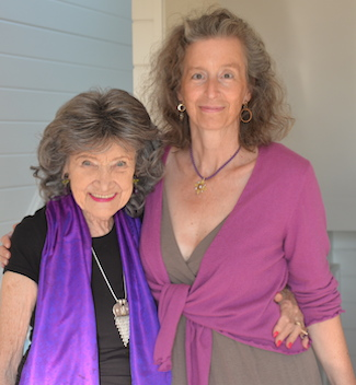 Tao Porchon-Lynch and Joan Alison Stockman