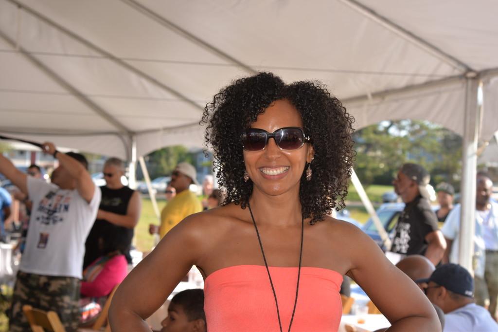 Teresa Kay-Aba Kennedy at Martha's Vineyard Music Festival