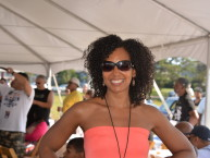 Teresa Kay-Aba Kennedy at Martha's Vineyard Music Festival