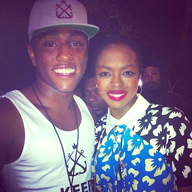 Daniel Kennedy and Lauryn Hill