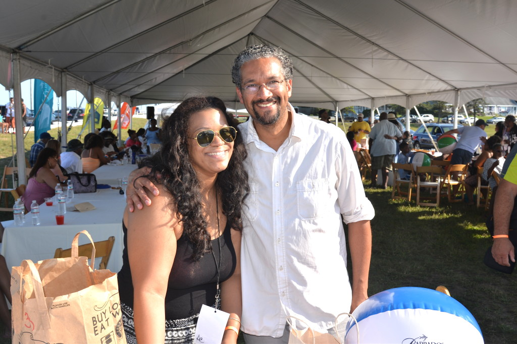 Erika and Norman Hall at Martha's Vineyard Music Festival