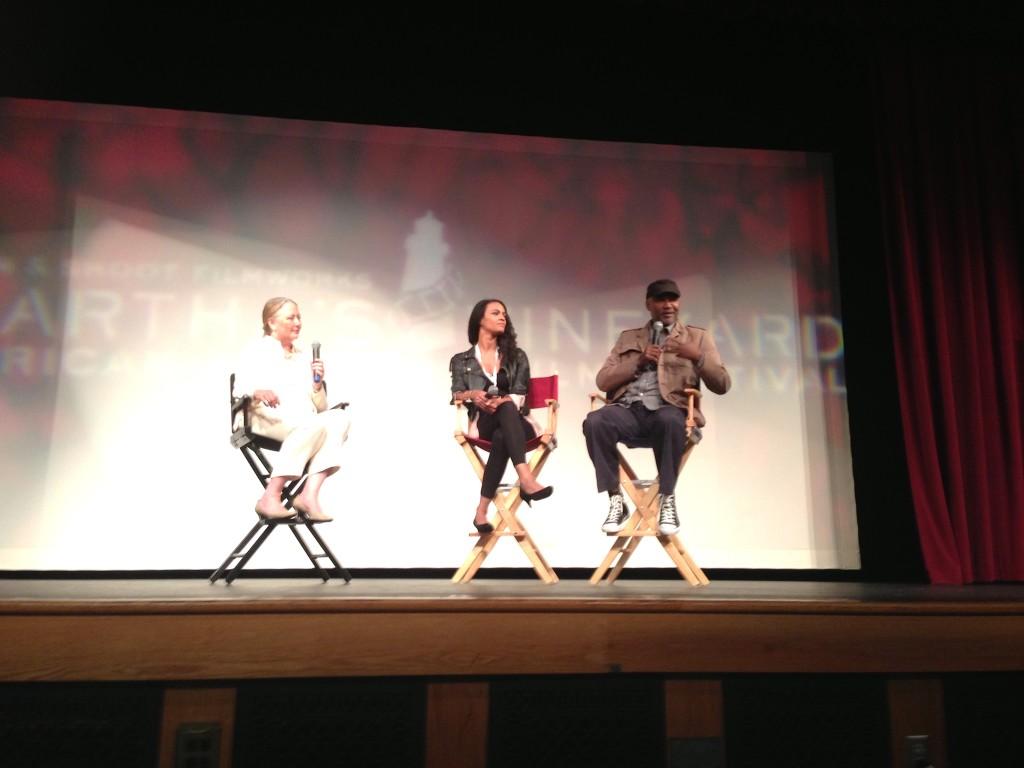 Nelson George at the Martha's Vineyard Film Festival