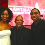 Teresa Kay-Aba Kennedy, Professor Henry Louis Gates Jr., Daniel Kennedy at Martha's Vineyard Film Festival
