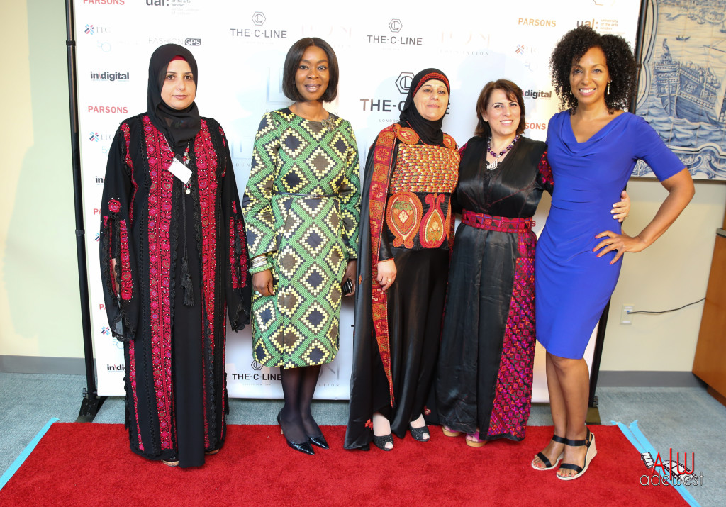 Teresa Kay-Aba Kennedy and others at the United Nations for the C-Line Launch