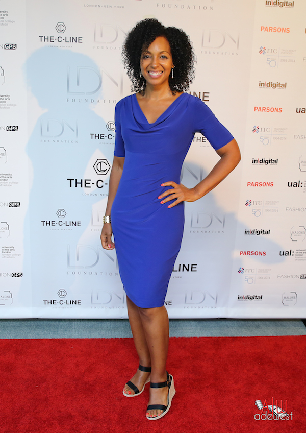 Teresa Kay-Aba Kennedy at United Nations C-Line Launch