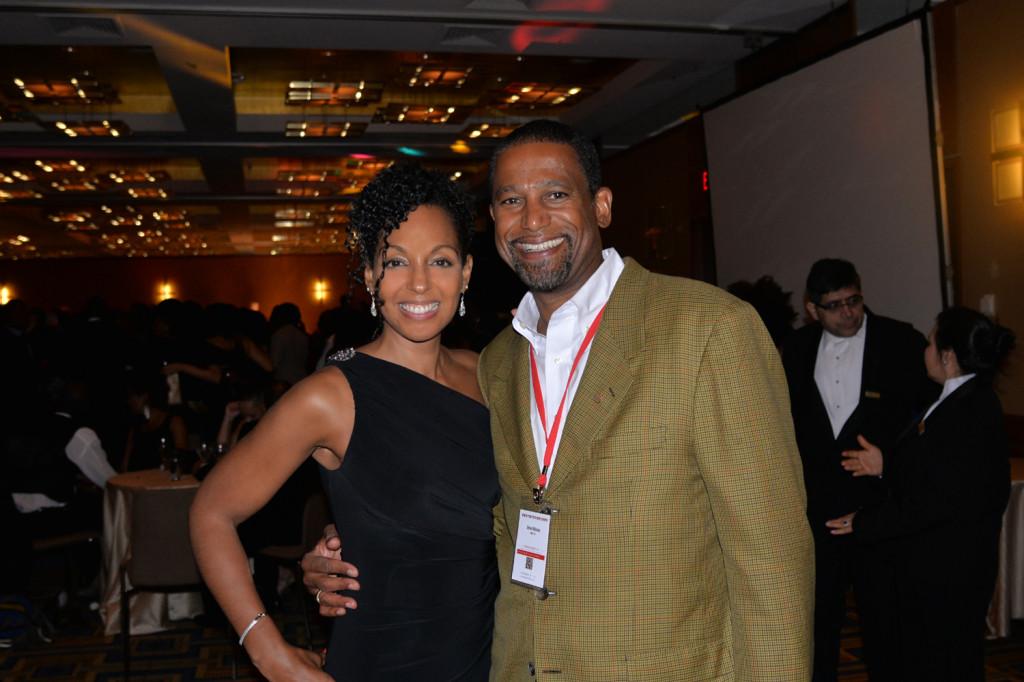 Teresa Kay-Aba Kennedy and Steven Wilkinson at the Harvard Black Alumni Weekend 2014