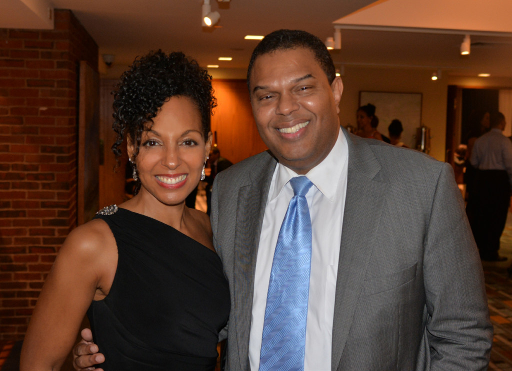 Teresa Kay-Aba Kennedy and Edgerton Bullock at the Harvard Black Alumni Weekend 2014