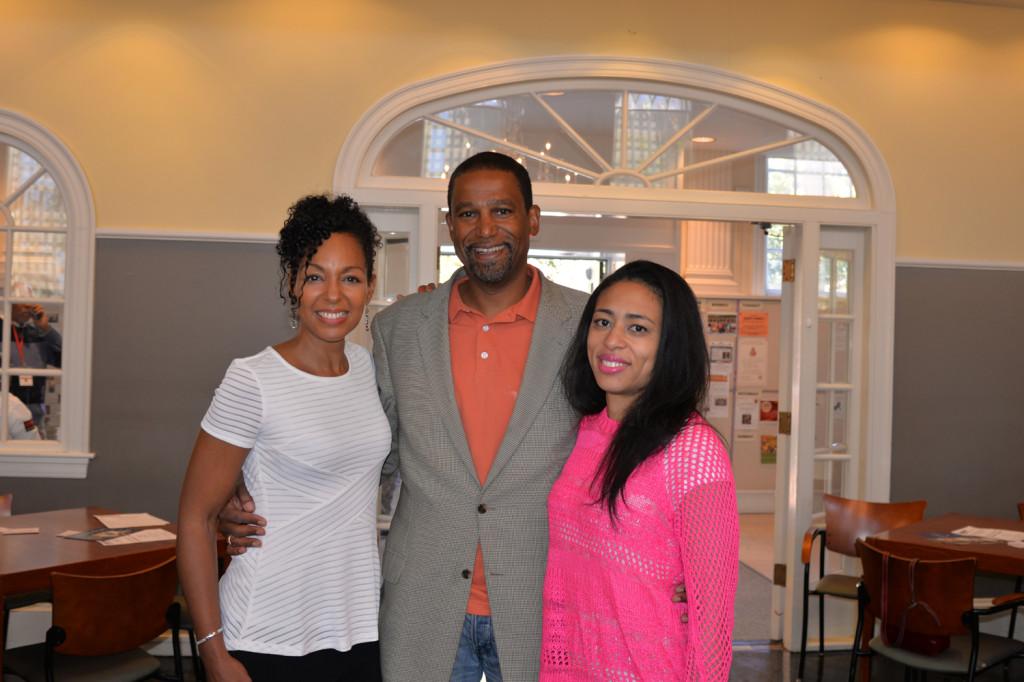Teresa Kay-Aba Kennedy, Steve Wilkinson, Candice Hoyes at the Harvard Black Alumni Weekend 2014