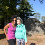 Teresa Kay-Aba Kennedy and 96-year-old Tao Porchon-Lynch