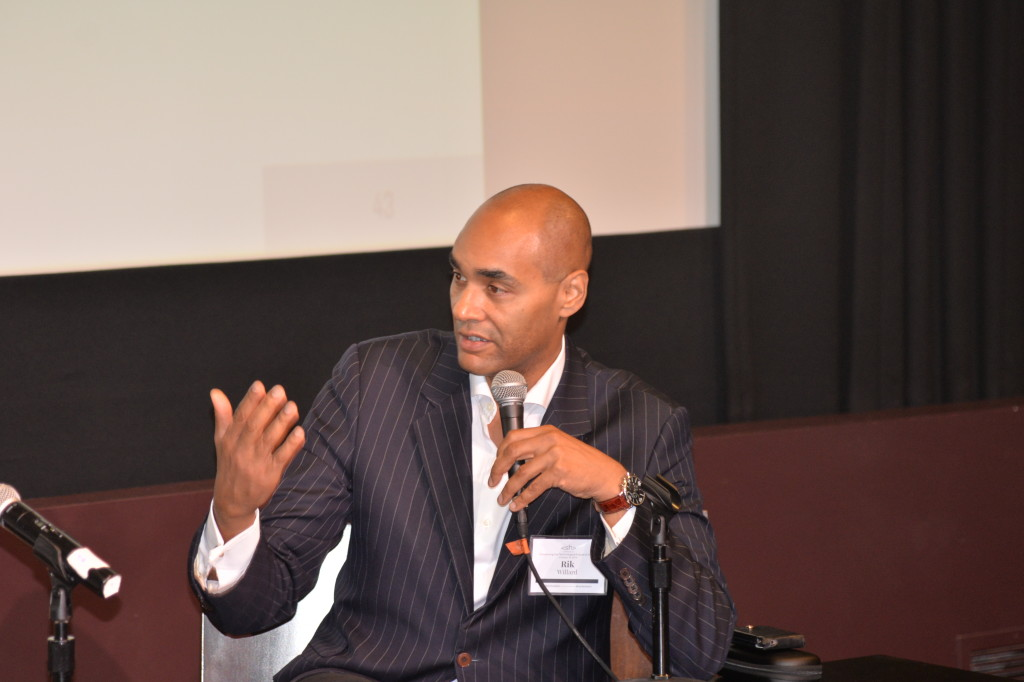 Rik Willard speaking at the First Annual Silicon Harlem Conference