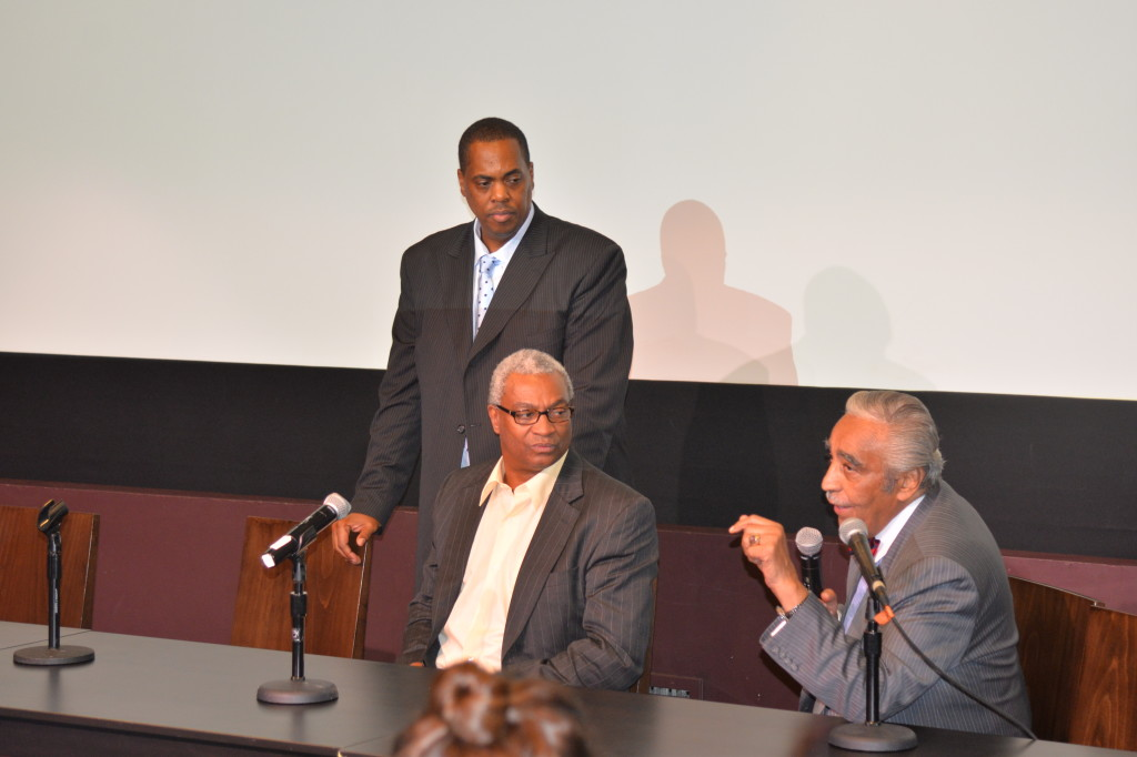 Silicon Harlem Co-Founders Clayton Banks and Bruce Lincoln with Congressman Charles Rangel at First Annual Silicon Harlem Conference