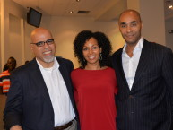 Ray Garcia, Teresa Kay-Aba Kennedy and Rik Willard at Silicon Harlem Conference