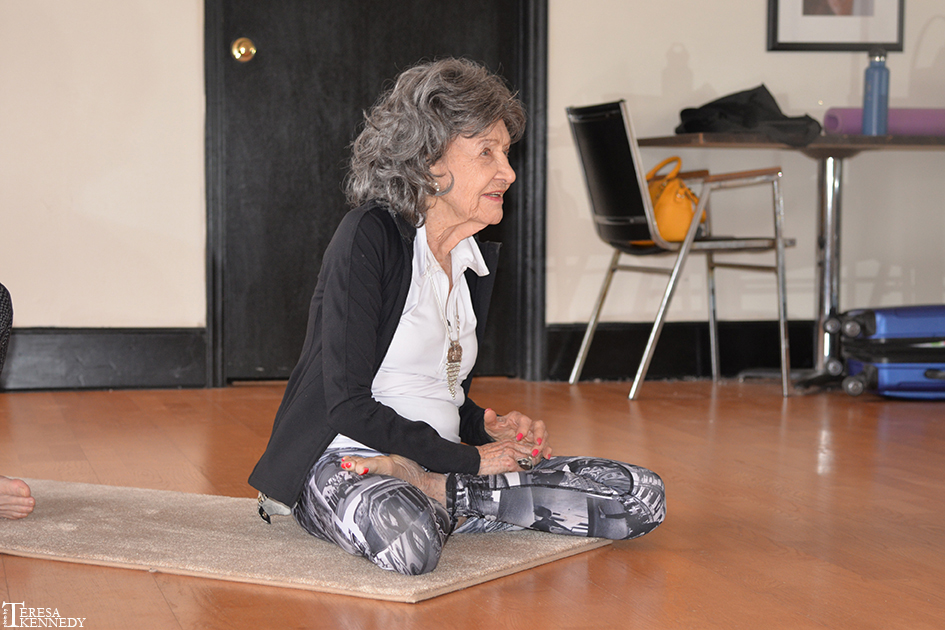 96-year-old Yoga Master Tao Porchon-Lynch