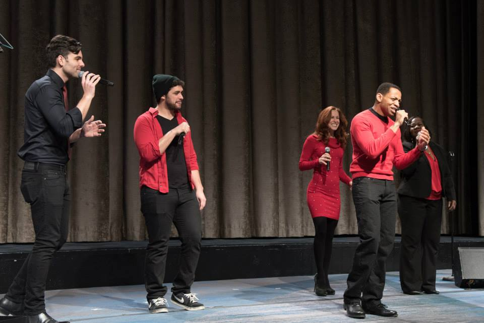 """Piece of the Heart"" performance at the 2015 American Heart Association Go Red Luncheon at the NY Hilton Midtown - March 3, 2015"
