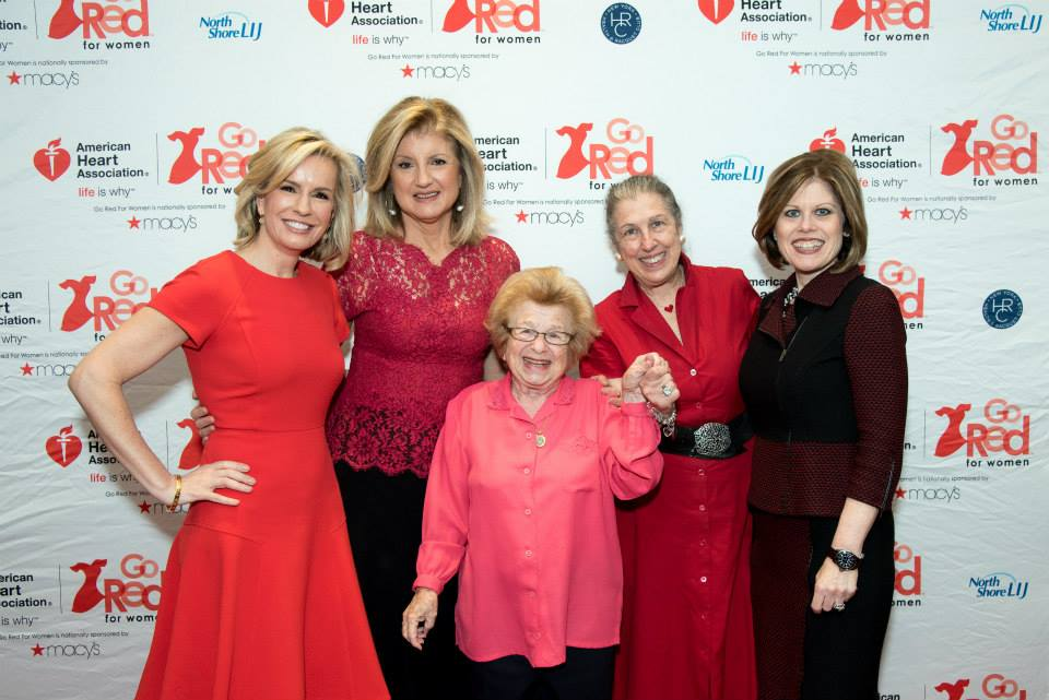 2015 American Heart Association Go Red Luncheon at the NY Hilton Midtown - March 3, 2015