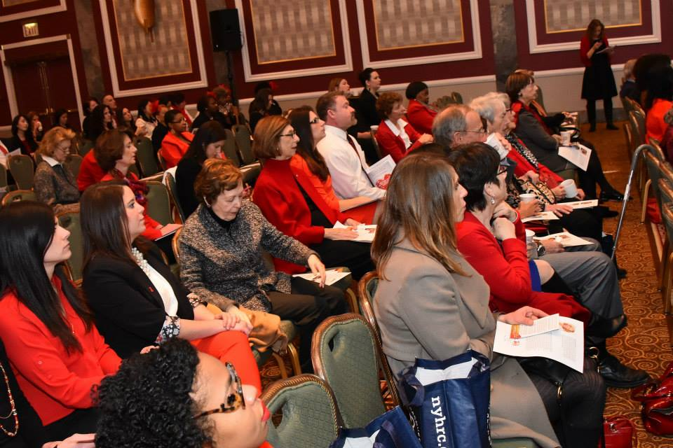 2015 American Heart Association Go Red Educational Panel at the NY Hilton Midtown - March 3, 2015