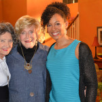96-year-old Yoga Master Tao Porchon-Lynch, 93-year-old TV Host and Philanthropist Suzanne Roberts, and Teresa Kay-Aba Kennedy