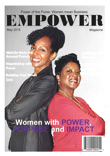 Teresa Kay-Aba Kennedy and Cindy Pace at Met Life's Global Women's Initiative - May 21, 2015