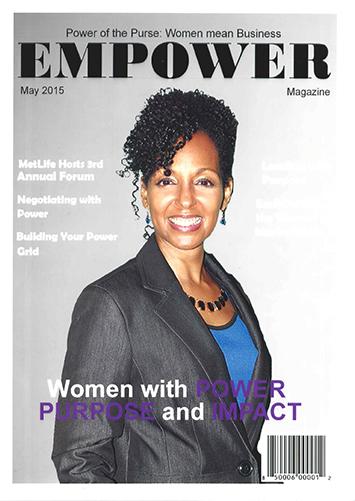 Teresa Kay-Aba Kennedy at Met Life's Global Women's Initiative - May 21, 2015