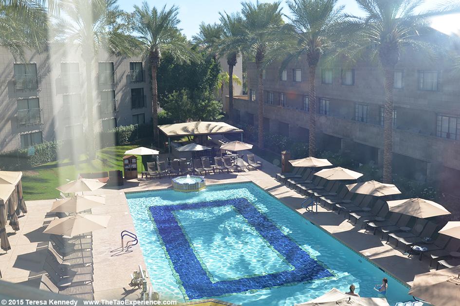 Pool at the Arizona Biltmore Resort in Phoenix, Arizona - September 26, 2015