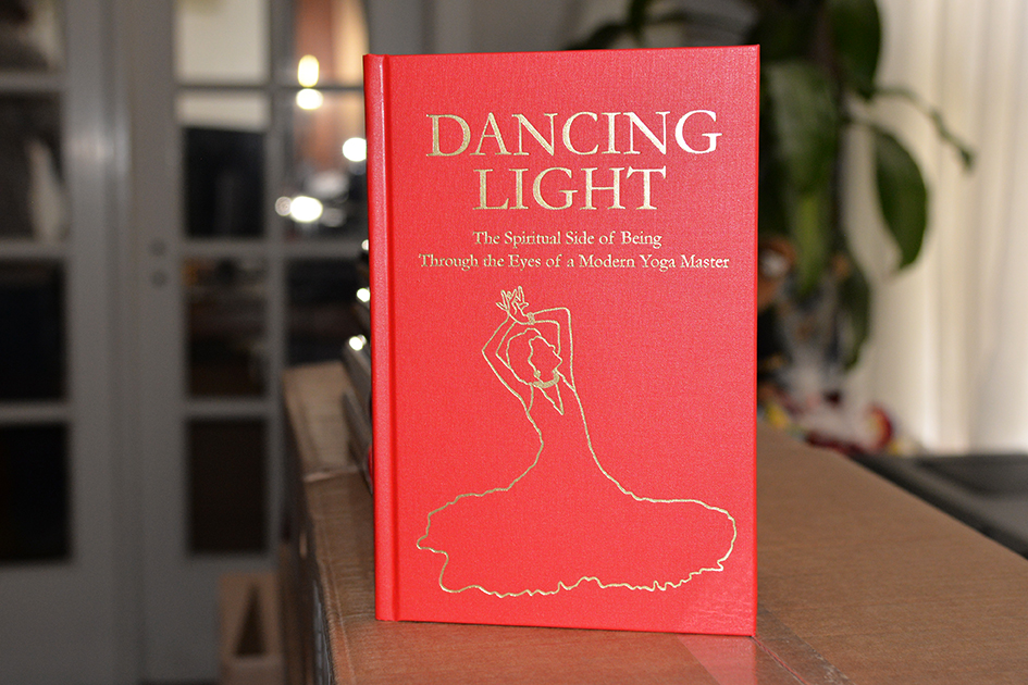 Dancing Light Red Cloth Cover