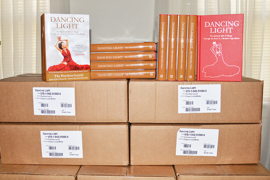 The first batch of Dancing Light Books arrive on September 9, 2015